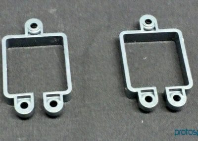 Scanner sensor frame