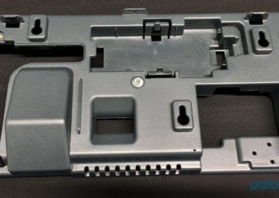 Case with inserts
